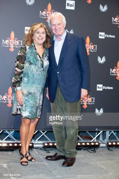 Matilde Bernabei attends press Conference for quotThe Medici the Magnificentquot in Florence Palazzo Medici Riccardi Italy on 10 October 2018 The...