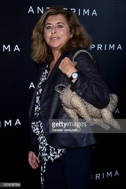 Matilde Bernabei attends the 'Anteprima Flagship Store' Opening In Rome on November 9 2011 in Rome Italy