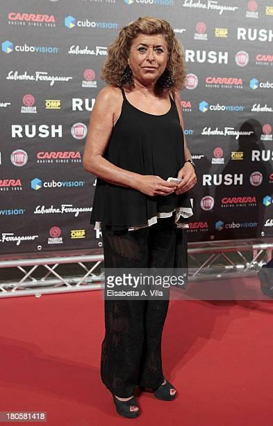 Matilde Bernabei attends the 'Rush' premiere at Auditorium della Conciliazione on September 14 2013 in Rome Italy