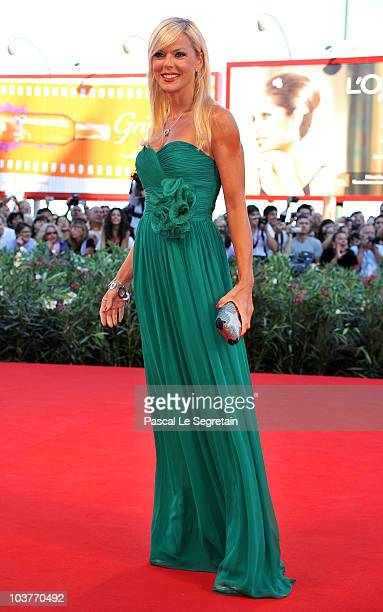 Matilde Brandi attends the Opening Ceremony and Black Swan premiere during the 67th Venice Film Festival at the Sala Grande Palazzo Del Cinema on...