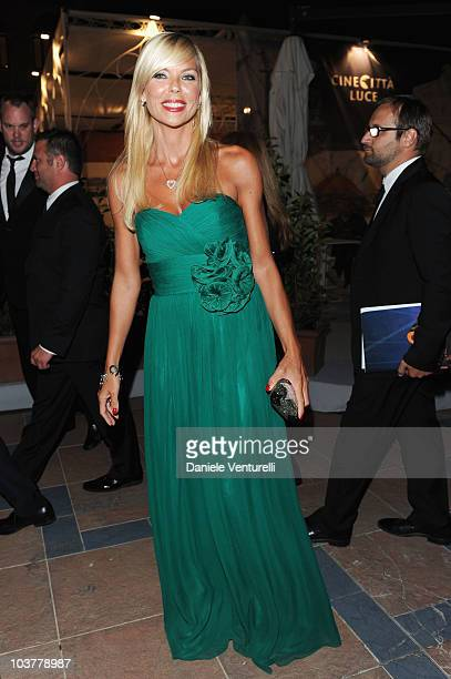 Matilde Brandi attends the Opening Ceremony Dinner at the Excelsior Hotel during the 67th Venice International Film Festival on September 12010 in...