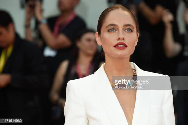 Matilde Gioli at the 76 Venice International Film Festival 2019 Joker red carpet Venice August 31th 2019