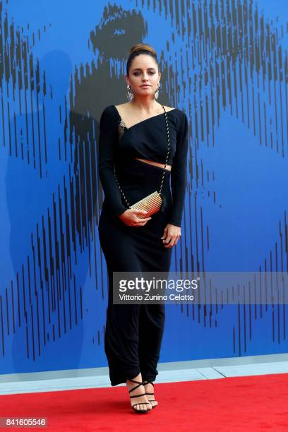 Matilde Gioli attends the Franca Sozzani Award during the 74th Venice Film Festival on September 1 2017 in Venice Italy
