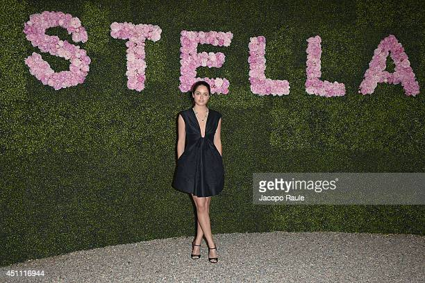 Matilde Gioli attends the Stella McCartney Garden Party during the Milan Fashion Week Menswear Spring/Summer 2015 on June 23 2014 in Milan Italy