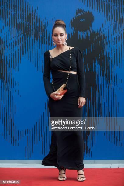 Matilde Gioli attends the The Franca Sozzani Award during the 74th Venice Film Festival at Sala Giardino on September 1 2017 in Venice Italy