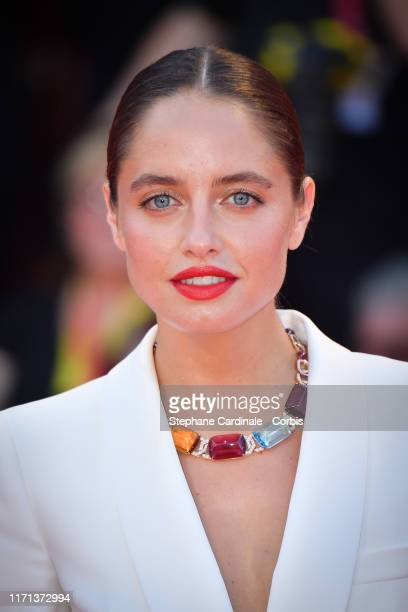 Matilde Gioli walks the red carpet ahead of the Joker screening during the 76th Venice Film Festival at Sala Grande on August 31 2019 in Venice Italy