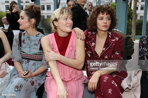 Matilde GioliValeria Bruni Tedeschi and Valeria Golino attend the Valentino show as part of the Paris Fashion Week Womenswear Fall/Winter 2017/2018...