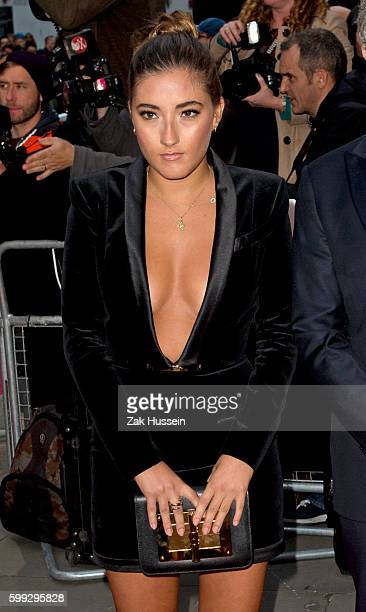 Matilde Mourinho arriving at the GQ Men of the Year Awards 2015 at the Royal Opera House in London