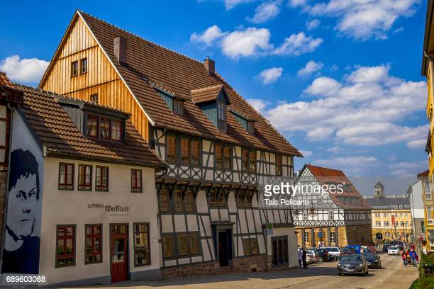 Matin Luther Workshop in the city of Eisenach (Bach hometown) in The Free State of Thuringia, Germany, Europe
