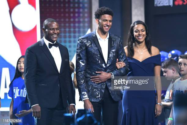 Matisse Thybulle is introduced during the 2019 NBA Draft at the Barclays Center on June 20 2019 in the Brooklyn borough of New York City NOTE TO USER...