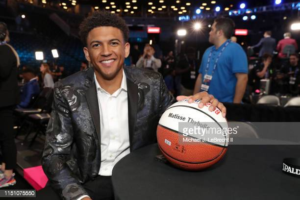 Matisse Thybulle poses for a photo before the 2019 NBA Draft on June 20 2019 at the Barclays Center in Brooklyn New York NOTE TO USER User expressly...