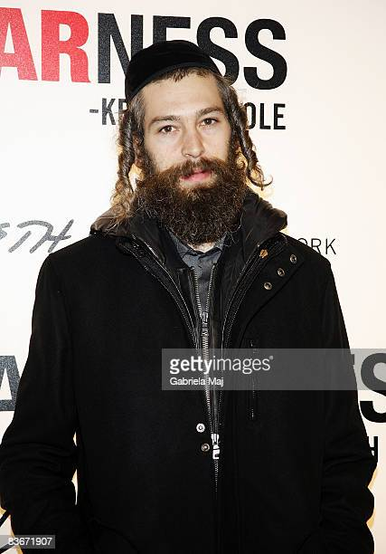 Matisyahu attends the launch of Awearness Inspiring Stories About How To Make A Differenceat the Kenneth Cole New York store in Grand Central on...