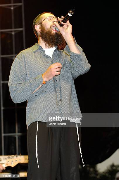 Matisyahu during Guinness 8th Annual Reggae CariFest 2005 at Randall's Island Park in New York City New York United States