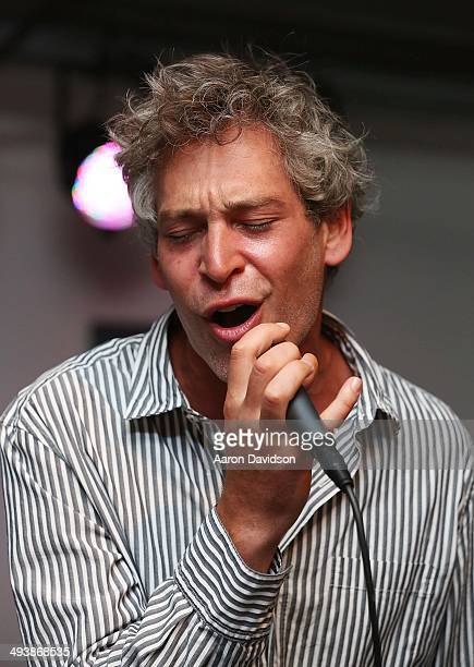 Matisyahu performs at One Split Second 2nd Annual Benefit for Christopher Dana Reeve Foundation at Gibson Guitar Miami Showroom on May 10 2014 in...