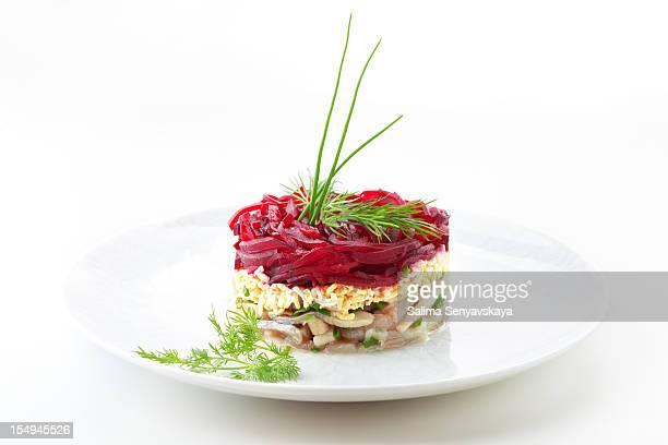 matjes tartare di pesce - gastronomico foto e immagini stock