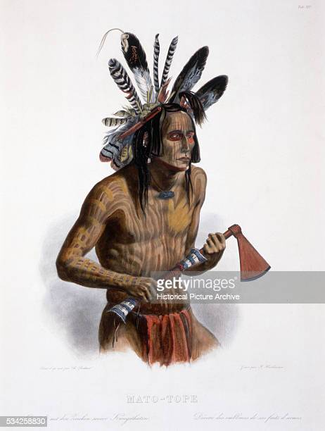 MatoTope after a Painting by Karl Bodmer