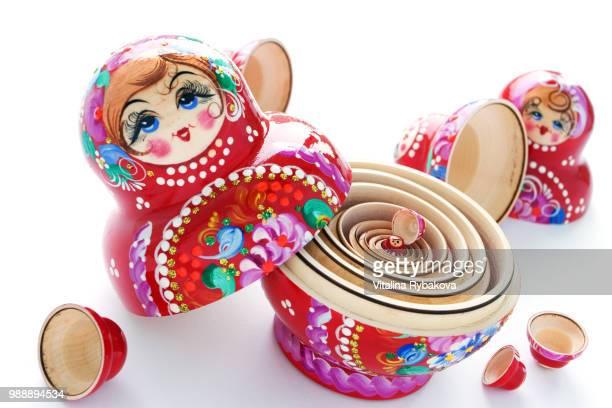 matrioshka. - candy dolls fotografías e imágenes de stock