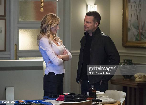 Matryoshka Part 2 Pictured Bar Paly and Chris O'Donnell Callen Sam and Anna are in Russia where they craft a plan to break her father and his CIA...