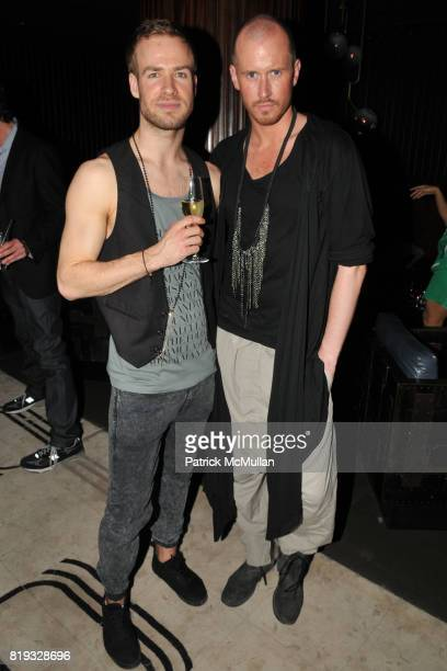 Mats Brattlie and Storm Pedersen attend Birthday Celebration for DIANNE BRILL Hosted by SUSANNE BARTSCH at Royalton on April 8, 2010 in New York City.
