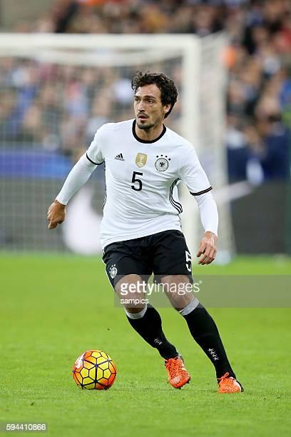 Mats Hummels Fussball Freundschaftsspiel Frankreich Deutschland Football friendly match national team France Germany