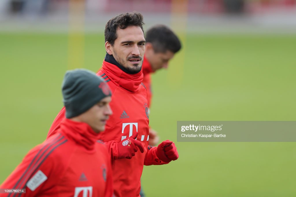Bayern Muenchen Training Session : News Photo