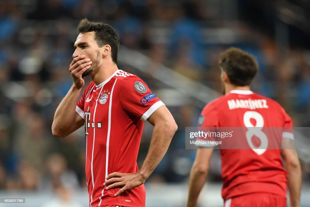 Real Madrid v Bayern Muenchen - UEFA Champions League Semi Final Second Leg