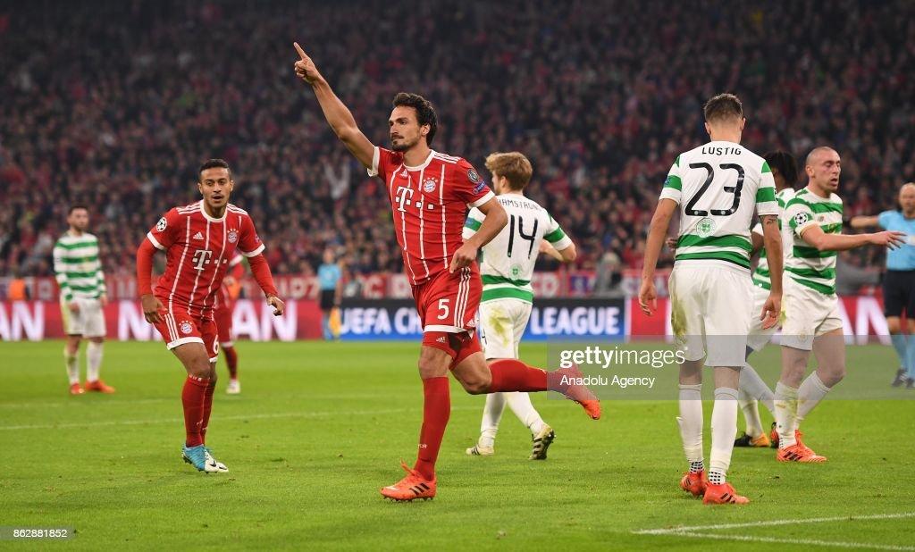 Bayern Munich v Celtic FC - UEFA Champions League : News Photo