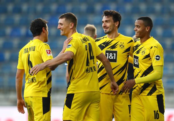 DEU: DSC Arminia Bielefeld v Borussia Dortmund - Bundesliga