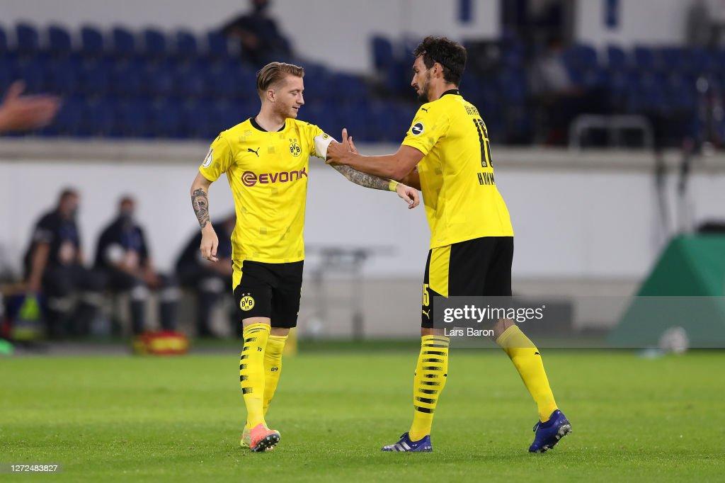 MSV Duisburg v Borussia Dortmund - DFB Cup: First Round : News Photo