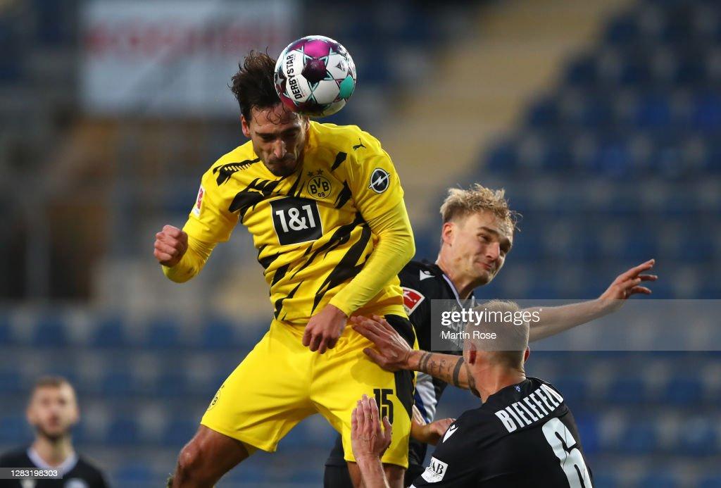 DSC Arminia Bielefeld v Borussia Dortmund - Bundesliga : News Photo