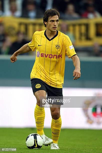 Mats Hummels of Dortmund during the 2008 DFB Supercup match between Cup winners Borussia Dortmund and German Champions Bayern Munich in Dortmund...