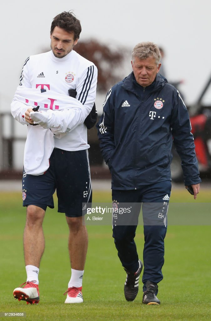 FC Bayern Muenchen - Training Session
