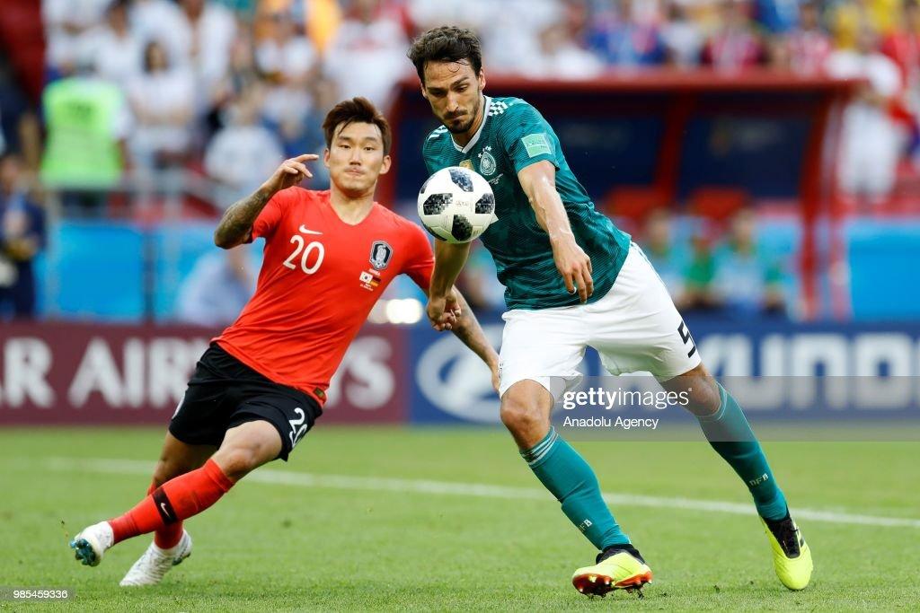 Korea Republic v Germany : Group F - 2018 FIFA World Cup Russia : News Photo
