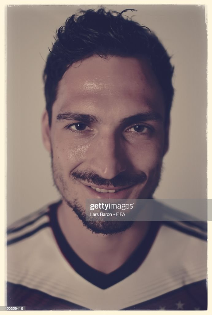 Mats Hummels of Germany poses during the official FIFA World Cup 2014 portrait session on June 8, 2014 in Salvador, Brazil.