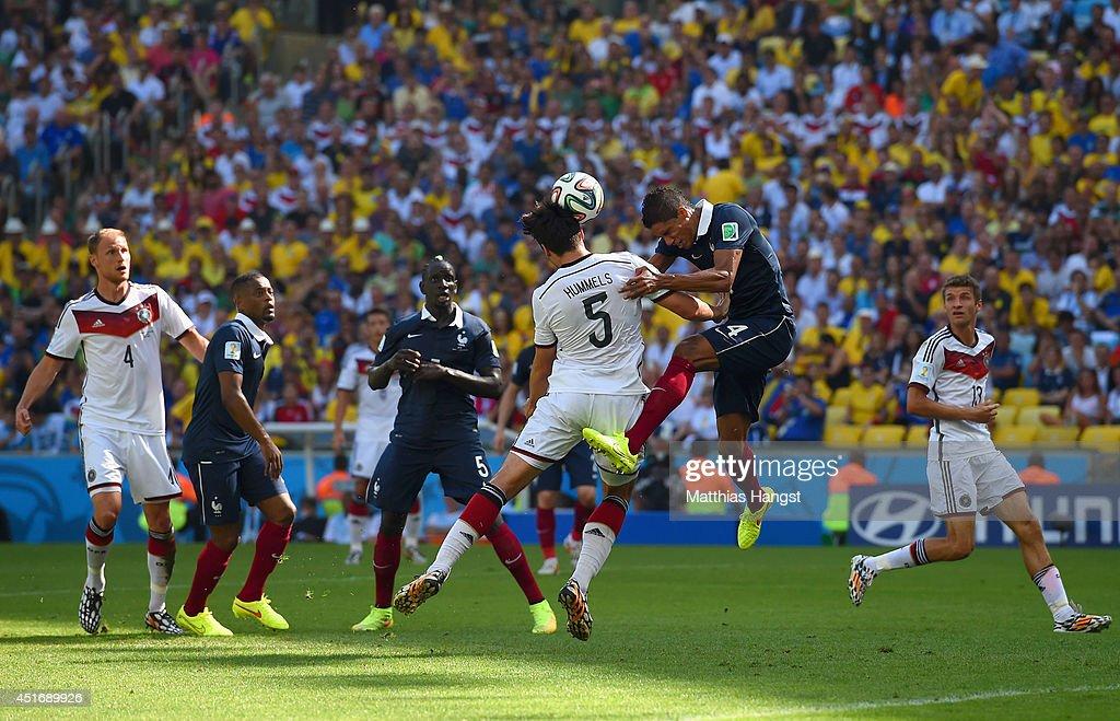 France v Germany: Quarter Final - 2014 FIFA World Cup Brazil : News Photo