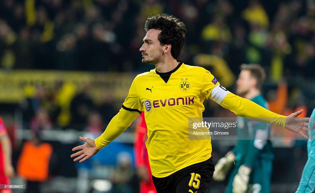 Borussia Dortmund v Liverpool FC - UEFA Europa League quarter final first leg : News Photo
