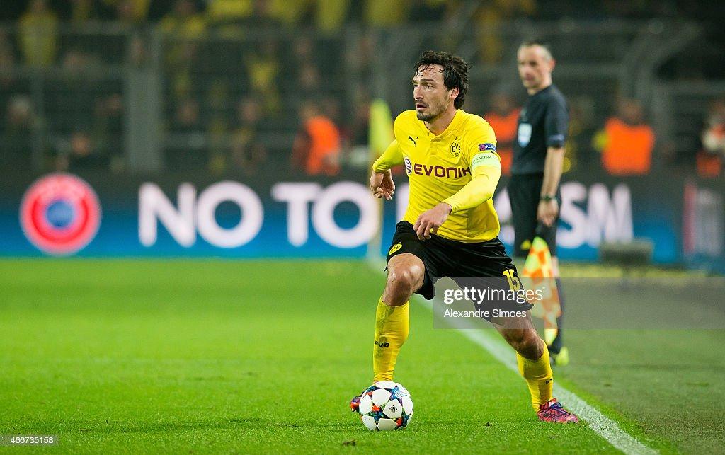 Borussia Dortmund v Juventus - UEFA Champions League Round of 16 : News Photo