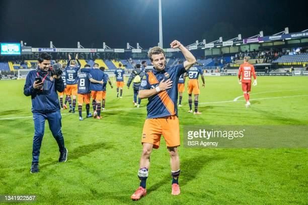 Mats Kohlert of Willem II during the Dutch Eredivisie match between RKC Waalwijk and Willem II at Mandemakers Stadion on September 21, 2021 in...