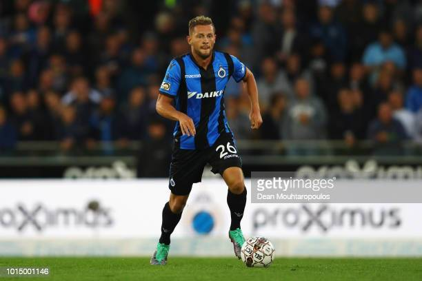 Mats Rits of Club Brugge KV in action during the Jupiler Pro League match between Club Brugge and KV Kortrijk at Jan Breydel Stadium on August 10...