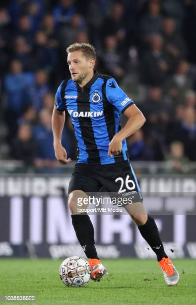 Mats Rits pictured in action during the Jupiler Pro League match between Club Brugge and KSC Lokeren OV at Jan Breydel Stadium on September 14 2018...