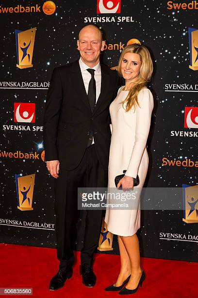 Mats Sundin attends the Swedish Sports Gala at the Ericsson Globe on January 25 2016 in Stockholm Sweden