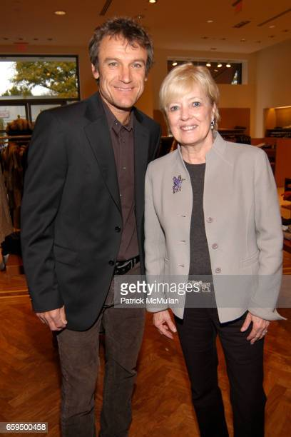 Mats Wilander and Mary Sprig attend FARAONE MENNELLA at Richards of Greenwich for DebRA Bracelet Unveiling at Richards on October 17 2009 in...