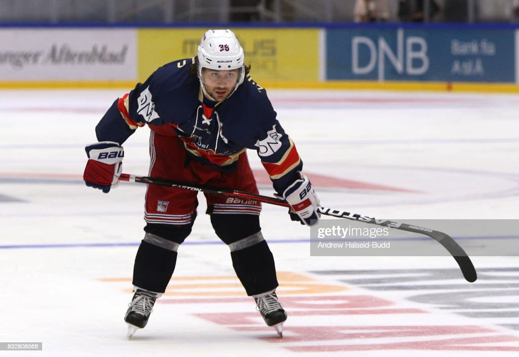 Mats Zuccarello during the Team Zuccarello v Team Icebreakers All Star Game at the DNB Arena on August 16, 2017 in Stavanger, Norway.