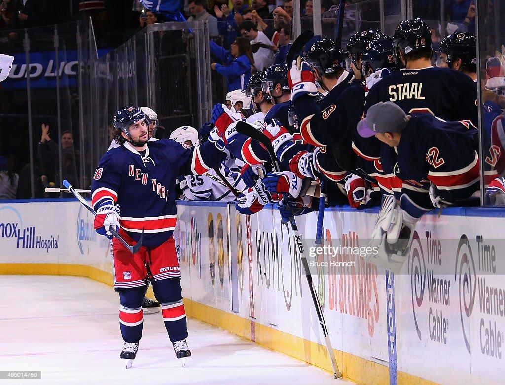 Toronto Maple Leafs v New York Rangers : News Photo