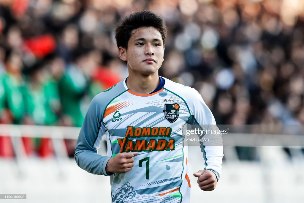 Aomori Yamada v Shizuoka Gakuen - 98th All Japan High School Soccer Tournament Final : Nyhetsfoto
