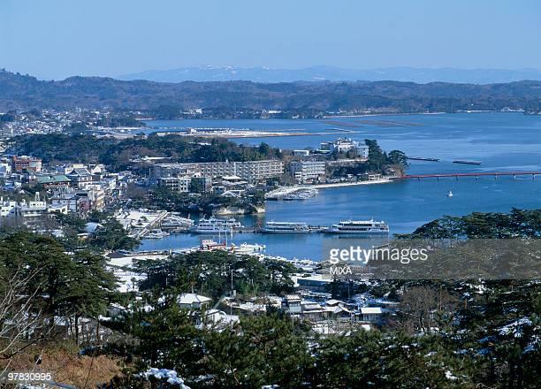 matsushima bay, matsushima, miyagi, japan - miyagi prefecture stock pictures, royalty-free photos & images