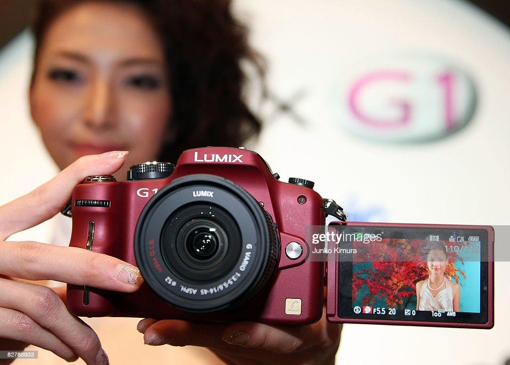 Matsushita Launch New SLR Camera : News Photo
