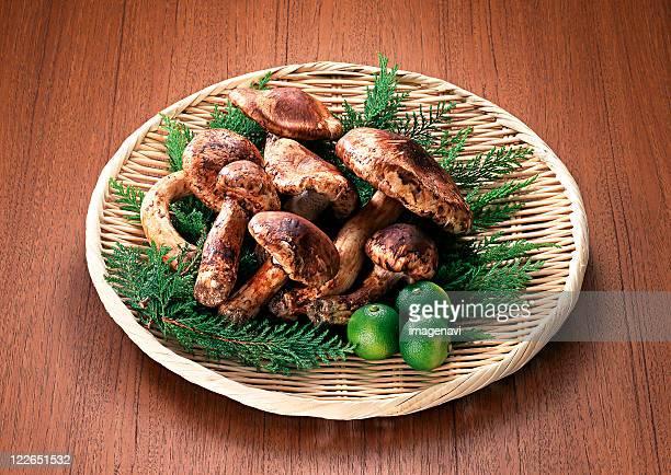 Matsutake Mushroom and Sudachi