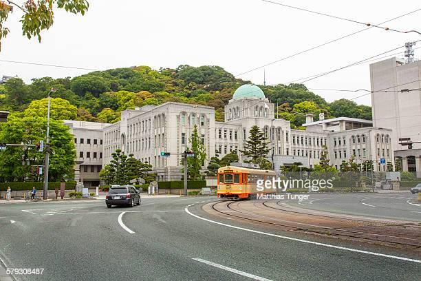 matsuyama, japan - city hall - matsuyama ehime stock pictures, royalty-free photos & images