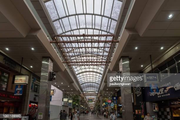 matsuyama shopping arcade - matsuyama ehime stock pictures, royalty-free photos & images